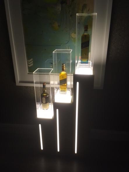 Whiskey Blog Display